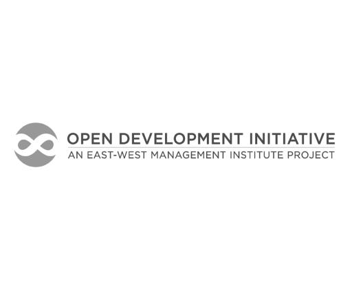 Open development initiative logo