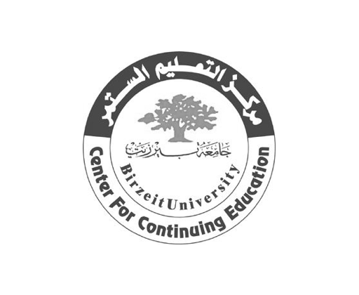 Birzeit University, Center for Continuing Education logo